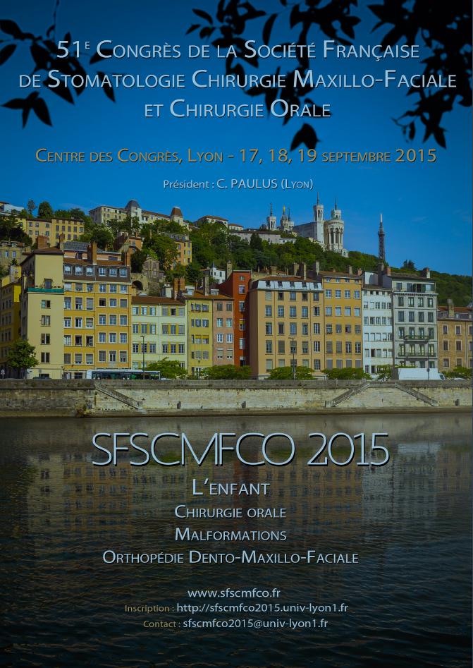 51e Congrès de la SFSCMFCO à Lyon